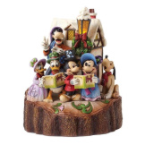 Mickey & Gang Caroling - Carved by Heart